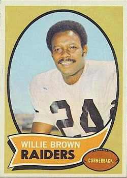 1970 Topps #144 Willie Brown