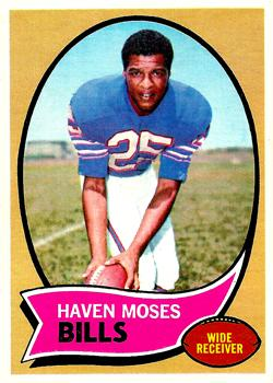 1970 Topps #165 Haven Moses RC