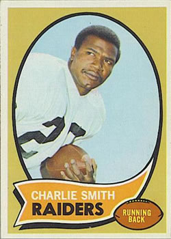 1970 Topps #199 Charlie Smith RB RC