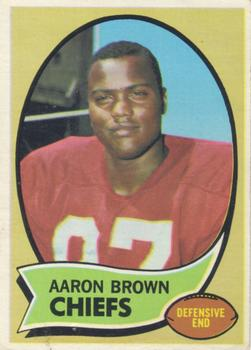 1970 Topps #202 Aaron Brown RC