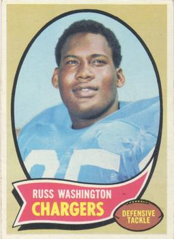 1970 Topps #206 Russ Washington RC