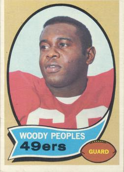 1970 Topps #207 Woody Peoples RC