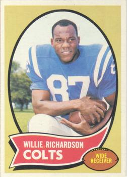 1970 Topps #246 Willie Richardson