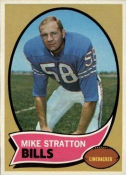 1970 Topps #252 Mike Stratton