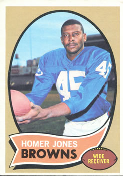 1970 Topps #258 Homer Jones