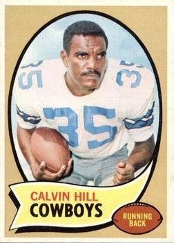 1970 Topps #260A Calvin Hill Red RC