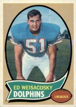 1970 Topps #262 Ed Weisacosky RC