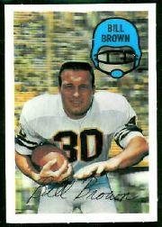 1970 Kellogg's #16 Bill Brown