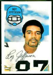 1970 Kellogg's #24 Roy Jefferson