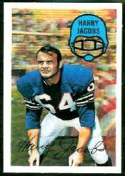 1970 Kellogg's #26 Harry Jacobs