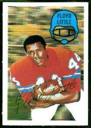 1970 Kellogg's #32 Floyd Little