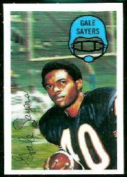 1970 Kellogg's #51 Gale Sayers