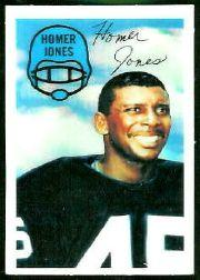 1970 Kellogg's #52 Homer Jones