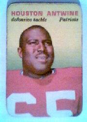1970 Topps Glossy Inserts #21 Houston Antwine