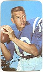 1970 Topps Super #15 Johnny Unitas