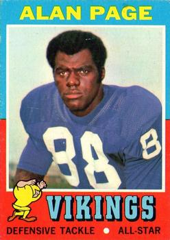 1971 Topps #71 Alan Page