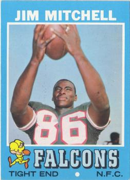 1971 Topps #84 Jim Mitchell TE RC