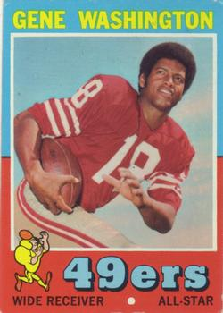 1971 Topps #165 Gene Washington 49er