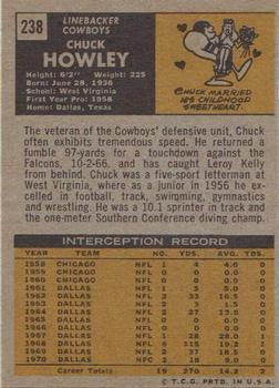 1971 Topps #238 Chuck Howley