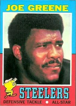 1971 Topps #245 Joe Greene RC