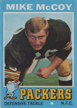 1971 Topps #248 Mike McCoy DT RC