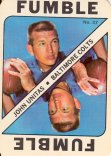 1971 Topps Game Inserts #37 Johnny Unitas