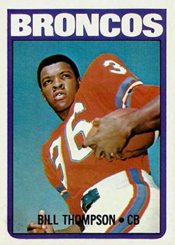 1972 Topps #24 Bill Thompson front image
