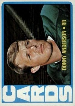 1972 Topps #32 Donny Anderson