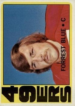 1972 Topps #38 Forrest Blue RC