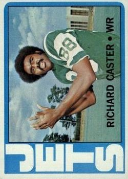 1972 Topps #68 Richard Caster RC