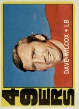1972 Topps #69 Dave Wilcox
