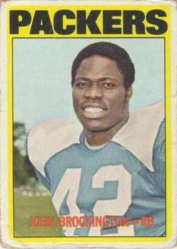1972 Topps #85 John Brockington RC