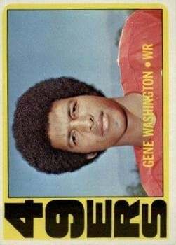 1972 Topps #90 Gene Washington 49er