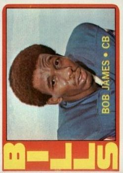 1972 Topps #114 Bob James RC