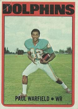 1972 Topps #167 Paul Warfield