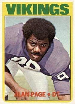 1972 Topps #300 Alan Page