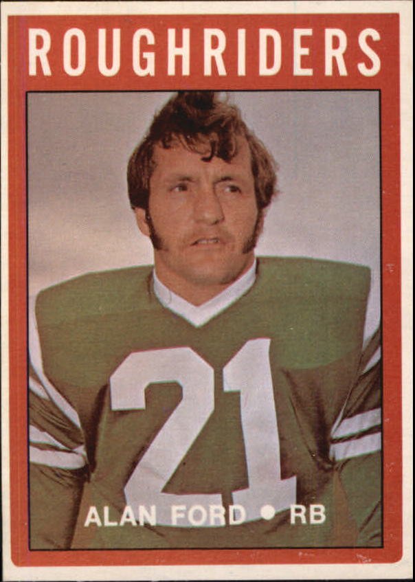 1972 O-Pee-Chee CFL #90 Alan Ford