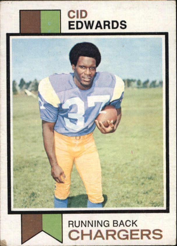 1973 Topps #13 Cid Edwards RC