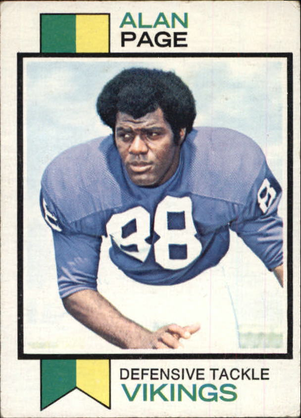 1973 Topps #30 Alan Page