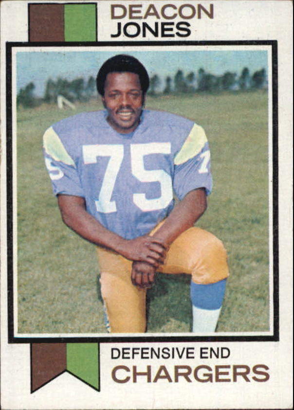 1973 Topps #38 Deacon Jones