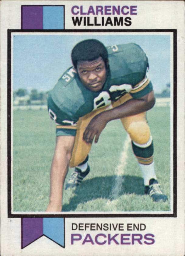 1973 Topps #109 Clarence Williams RC