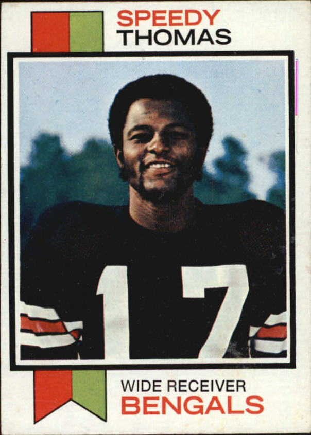 1973 Topps #113 Speedy Thomas RC