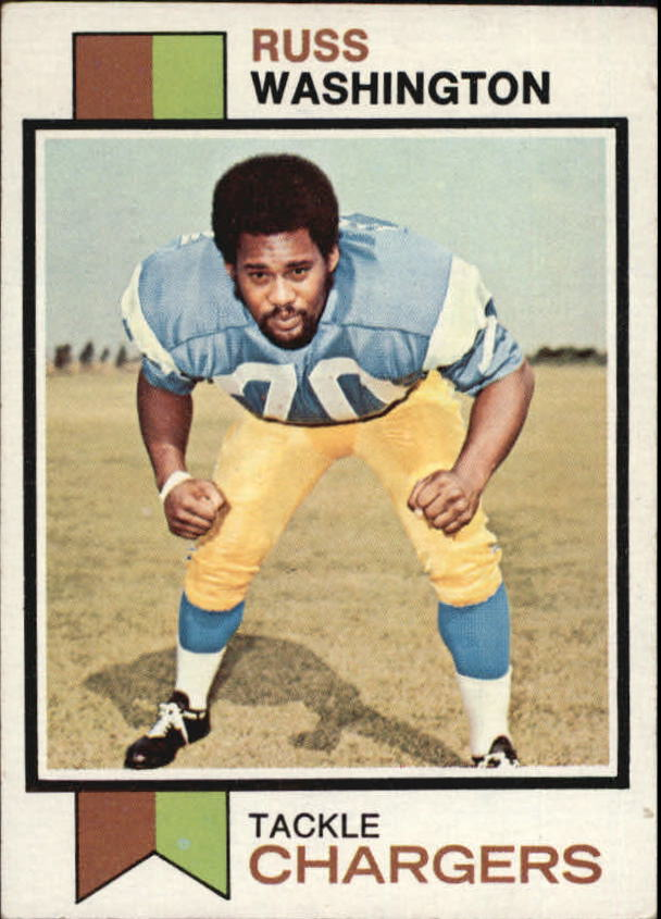 1973 Topps #199 Russ Washington