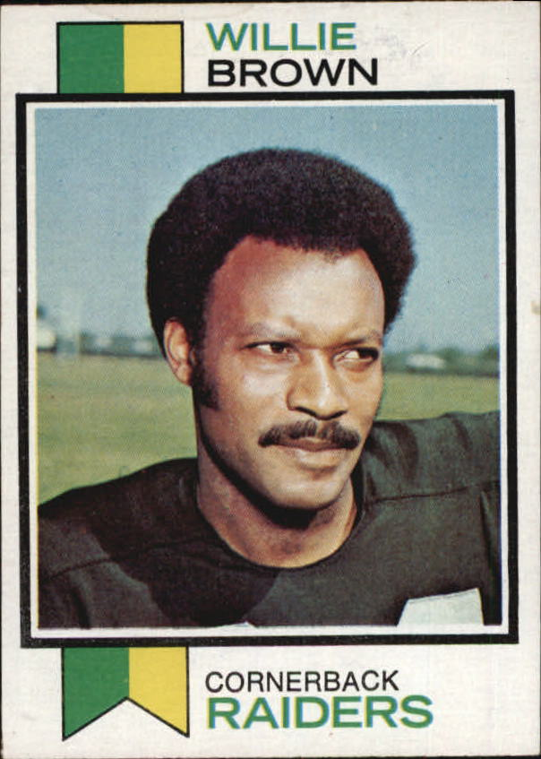 1973 Topps #210 Willie Brown