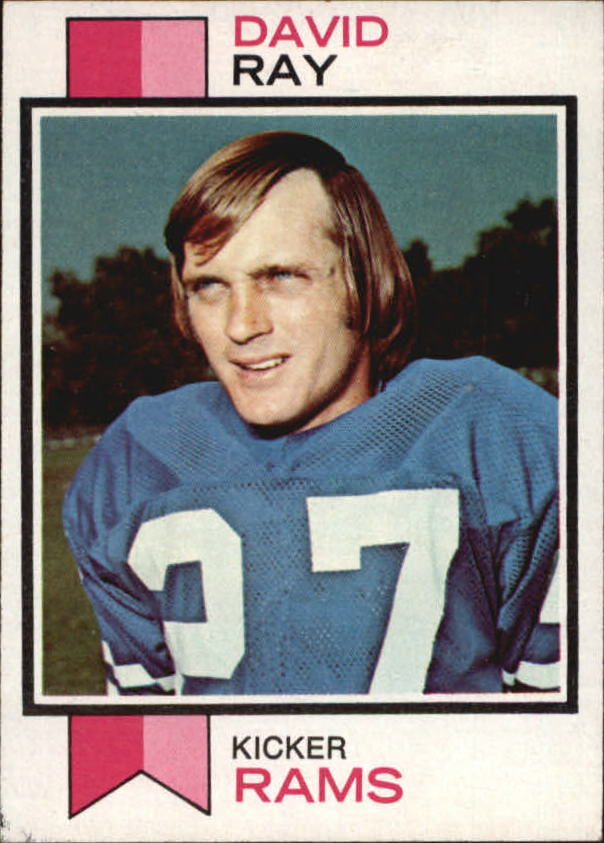 1973 Topps #244 David Ray RC