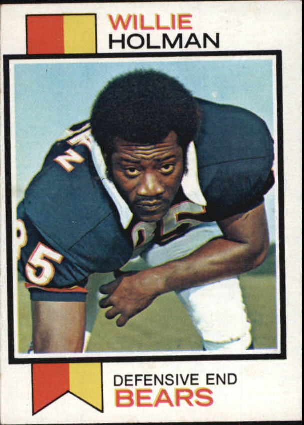 1973 Topps #427 Willie Holman RC