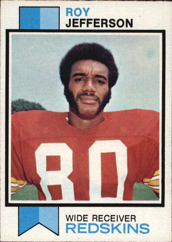 1973 Topps #472 Roy Jefferson