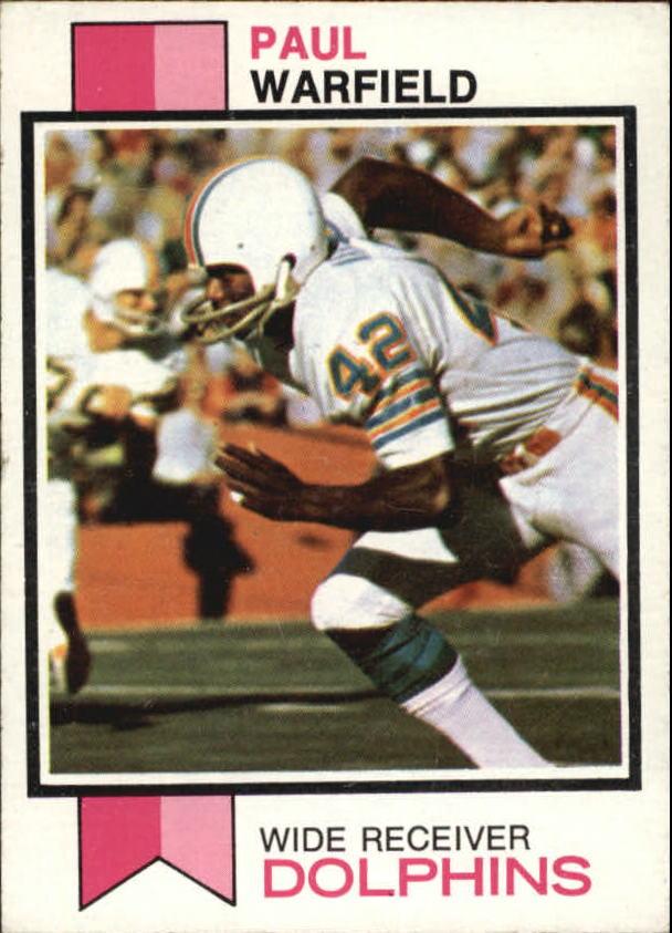 1973 Topps #511 Paul Warfield