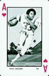 1973 Florida Playing Cards #1H Nat Moore