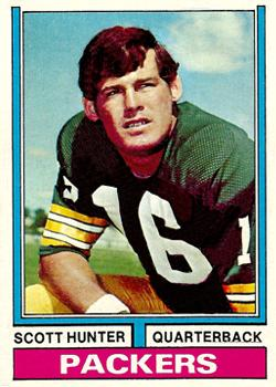 1974 Topps #31 Scott Hunter